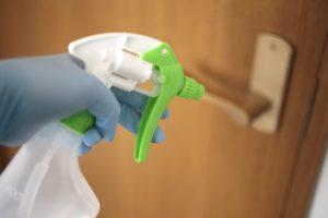 ドアノブ等のウイルス除菌|ラブホテルアスティ